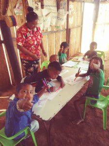 15 MOPI-Warikena_actividad pedagogica, Resguardo Wacoyo