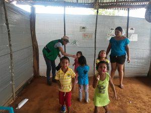 19 MOPI- Celebración día del niño y la niña juego de pelotas, abril 2018, Resguardo Wacoyo