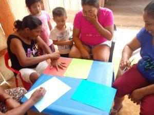 30 MOPI- Matapalito trabajo de mujeres, Resguardo Wacoyo
