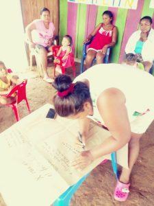 34 MOPI -Fundo Bonito la importancia de las mujeres, Resguardo Wacoyo