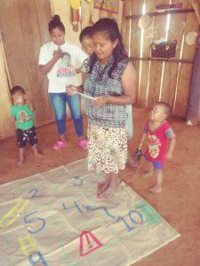 36 MOPI- Warikena juego la escalera de los derechos, Resguardo Wacoyo