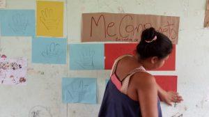 43 MOPI- Encuentro con mujeres, actividad me comprometo en contra de cualquier tipo de violencias, Resguardo Wacoyo