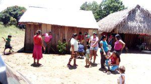 46 MOPI- Comunidad Matapalito Encuentro comunitario Siembra de jadín para la UCA, Resguardo Wacoyo