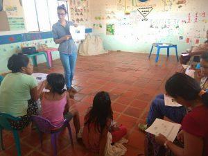 48 MOPI- Encuentro con mujeres, identificacion de riesgos en el hogar, marzo 2018, Resguardo Wacoyo