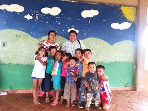 5 MOPI- Niños, niñas y agentes de la comunidad Corocito, Resguardo Wacoyo
