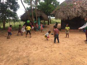 Comunidad Fortaleza, encuentro tradicional acerca de la pervivencia de la lengua, Resguardo Vencedor