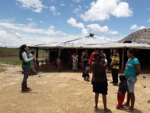 Comunidad Kasibare, apertura a un encuentro al hogar, Resguardo Vencedor