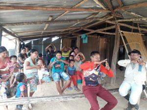 Comunidad Kasibare, encuentro comunitario, Resguardo Vencedor