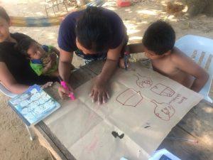 Comunidad Mangal, Cartografía de su territorio, Resguardo Vencedor