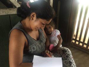 Comunidad Rochela, encuentro en el hogar, reconocimiento de la importancia de la mujer, Resguardo Vencedor